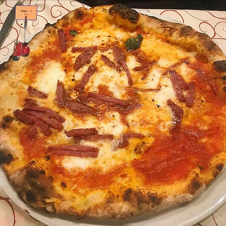 Al Cancelletto: pizza diavola