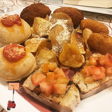 Al Cancelletto: antipasto di fritti misti