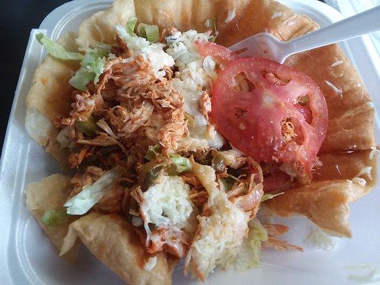 El Torero Mexican Restaurant: Taco salad close-up