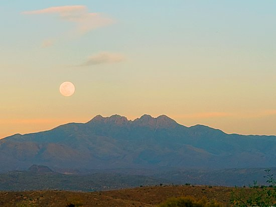 McDowell Mountain Regional Park: View from campground