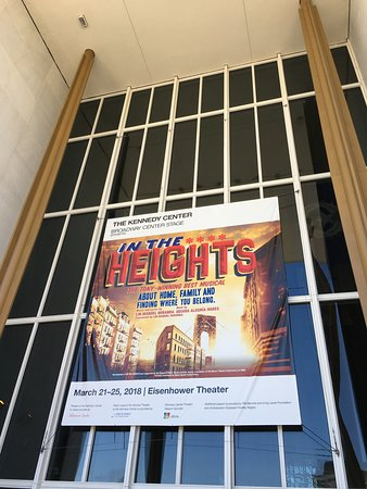 John F. Kennedy Center for the Performing Arts: In the Heights!!