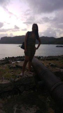 San Lorenzo-fæstningen: la vista
