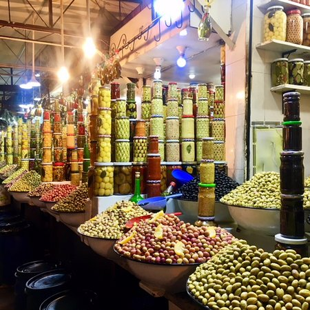 Experience Marrakech: Food and Market Tour of Djemaa El Fna, Including Traditional Dinner: Olive tasting