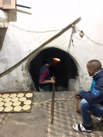 Experience Marrakech: Food and Market Tour of Djemaa El Fna, Including Traditional Dinner: A traditional bread oven at the bakery