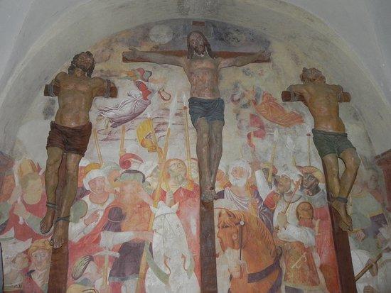 San Vivaldo, Italia: la crocifissione