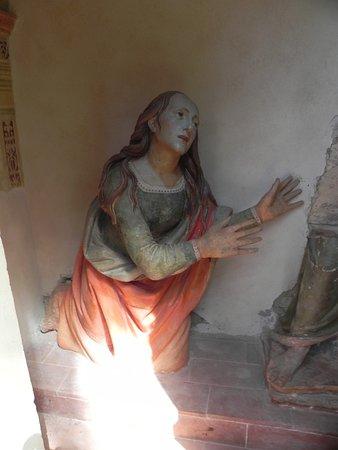 San Vivaldo, Italia: noli me tangere ( con Gesù rubato )