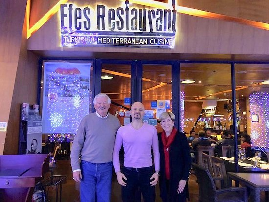 Ramazan Yilmaz Center Owner Of Efes Restaurant Picture Of Efes