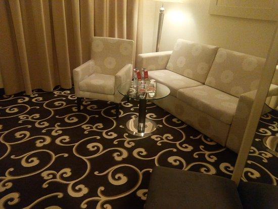 Grand Hotel Bohemia: Гостинная