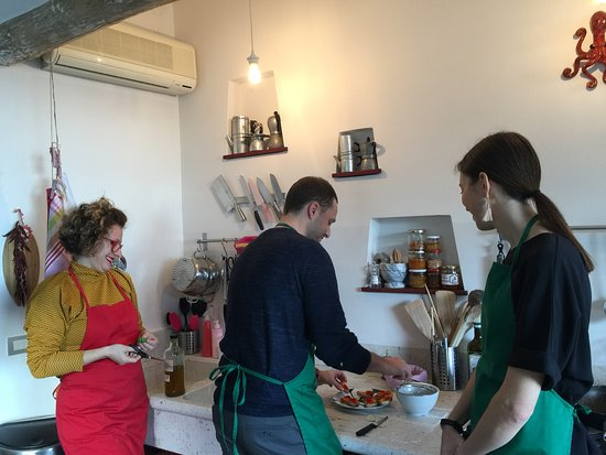 Marina in Cucina: With Marina in the kitchen