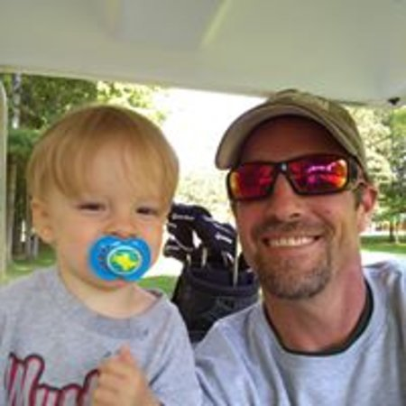 Comins, MI: GM Mike and his little guy, Emmett! Family friendly all around!