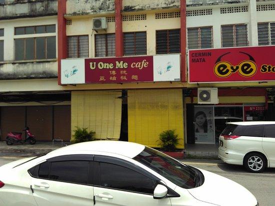 Tanjong Malim, Malaysia: U One Me Cafe Jalan Zaaba 2.