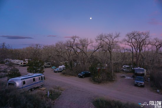 Ojo Caliente, New Mexiko: Campground