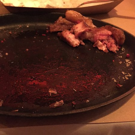 Bistro Deryne: All the left over fat from my steak