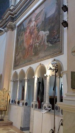 Affresco lato destro altare
