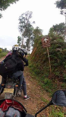 Huila Department, Colombia: Camino a la cueva de los guacharos, Despues de Palestina Huila.