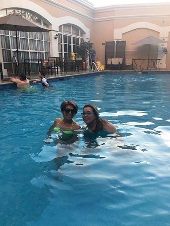 Hilton Princess Managua: Día de compartir con buenas amigas, salir de la rutina, una atención por parte de los colaborado