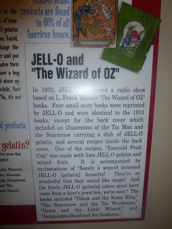 Le Roy, NY: Jell-O And The Wizard Of Oz Children's Books