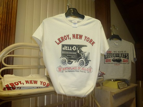 Le Roy, NY: T-Shirts Available In Gift Shop