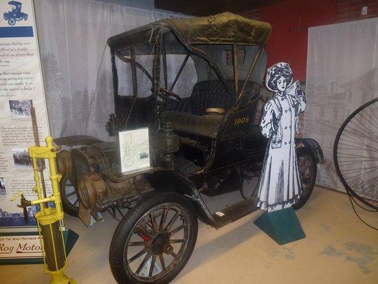 Le Roy, NY: 1918 Cadillac In Basement Transportation Section