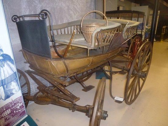 """Le Roy, NY: Early """"Pleasure Wagon"""" -"""