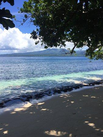 Qamea Island, Fiyi: View out to Taveuni