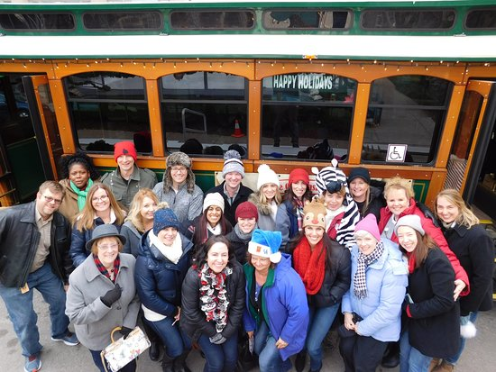 Jeffersonville, IN: Company Christmas party with Trolley ride, lunch & ice skating!