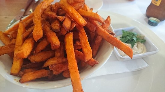 ‪‪Clovelly Park‬, أستراليا: sweet potato chips‬
