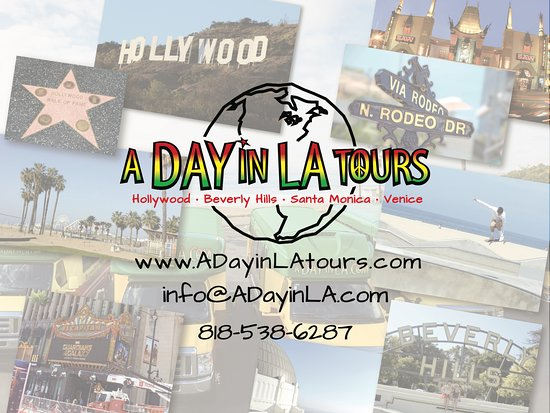 ‪A Day in LA Tours‬