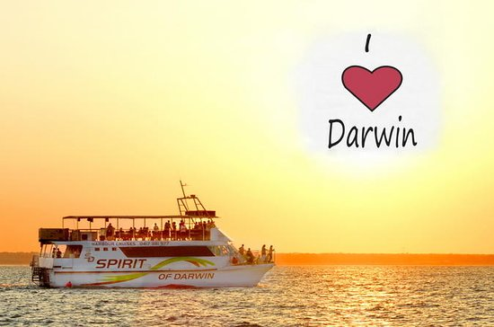 Darwin Sunset Cruise con cena buffet...