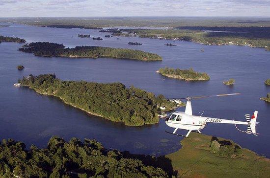 Passeio de Helicóptero pelas Mil Ilhas