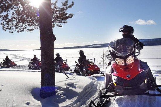Snowmobile Driving - Morning start