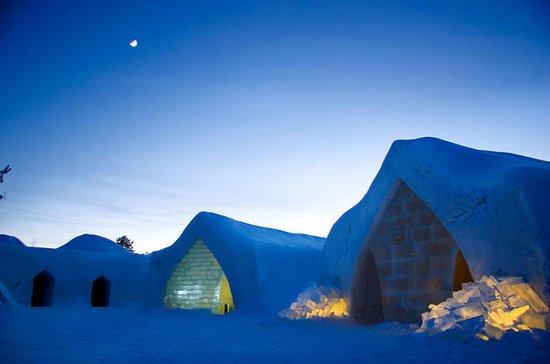 Besuchen Sie das Arctic Snow Hotel