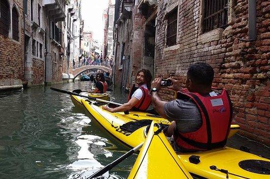 Venice Biathlon tour - running and kayak