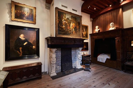 Rembrandt House Museum in Amsterdam...