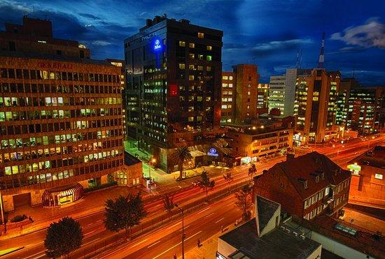 Hilton Bogota: Exterior