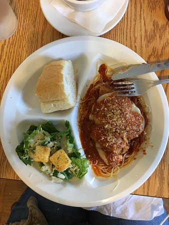 Norco, LA: 1/2 order of the Veal Parmesan