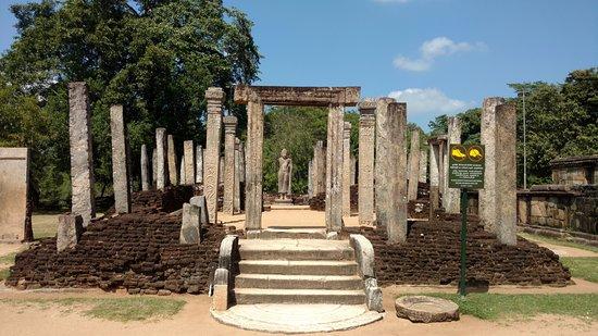 Polonnaruwa, Sri Lanka: Front view