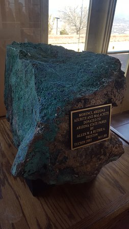 Jerome State Historic Park : Inside specimen...