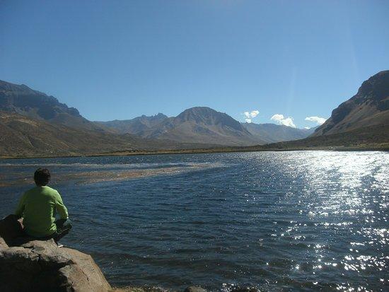 El Sosneado, Argentyna: laguna