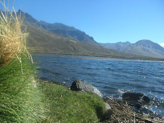 El Sosneado, Argentinien: laguna