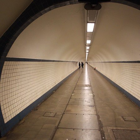 St. Anna's Tunnel / Pedestrians' Tunnel ภาพถ่าย