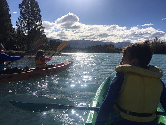 Twizel, Nya Zeeland: Beautiful way to end the day