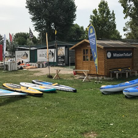 Podersdorf am See, Austria: Mission To Surf