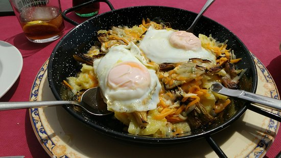 Tarazona de La Mancha, إسبانيا: Restaurante El Cruce