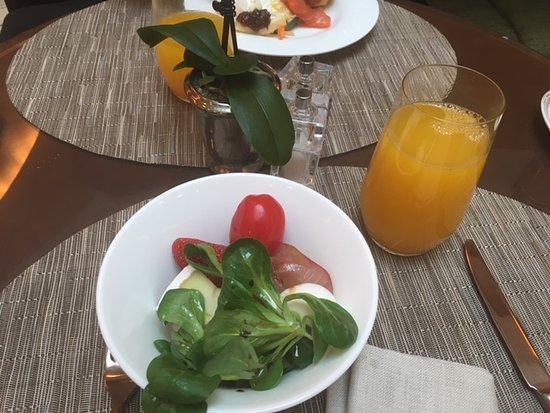 Park Hyatt Milan: 朝食
