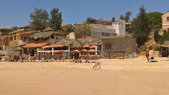 Toubab Dialao, Senegal: la rocher.