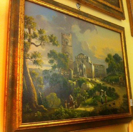 Maison Altieri: Un quadro della Maison ( Erice nel Settecento ) .