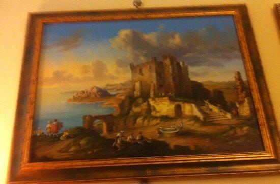 Maison Altieri: Altro quadro ( Castello di Erice nel seicento ) .