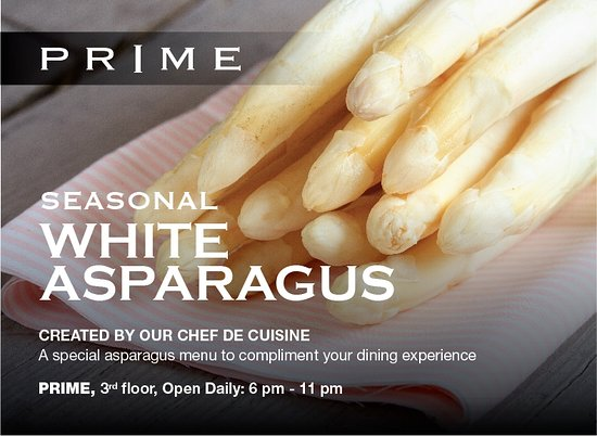 Prime Steakhouse Restaurant: White Asparagus