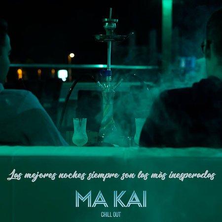 Ma Kai Cocktail Shisha Bar: Shishas